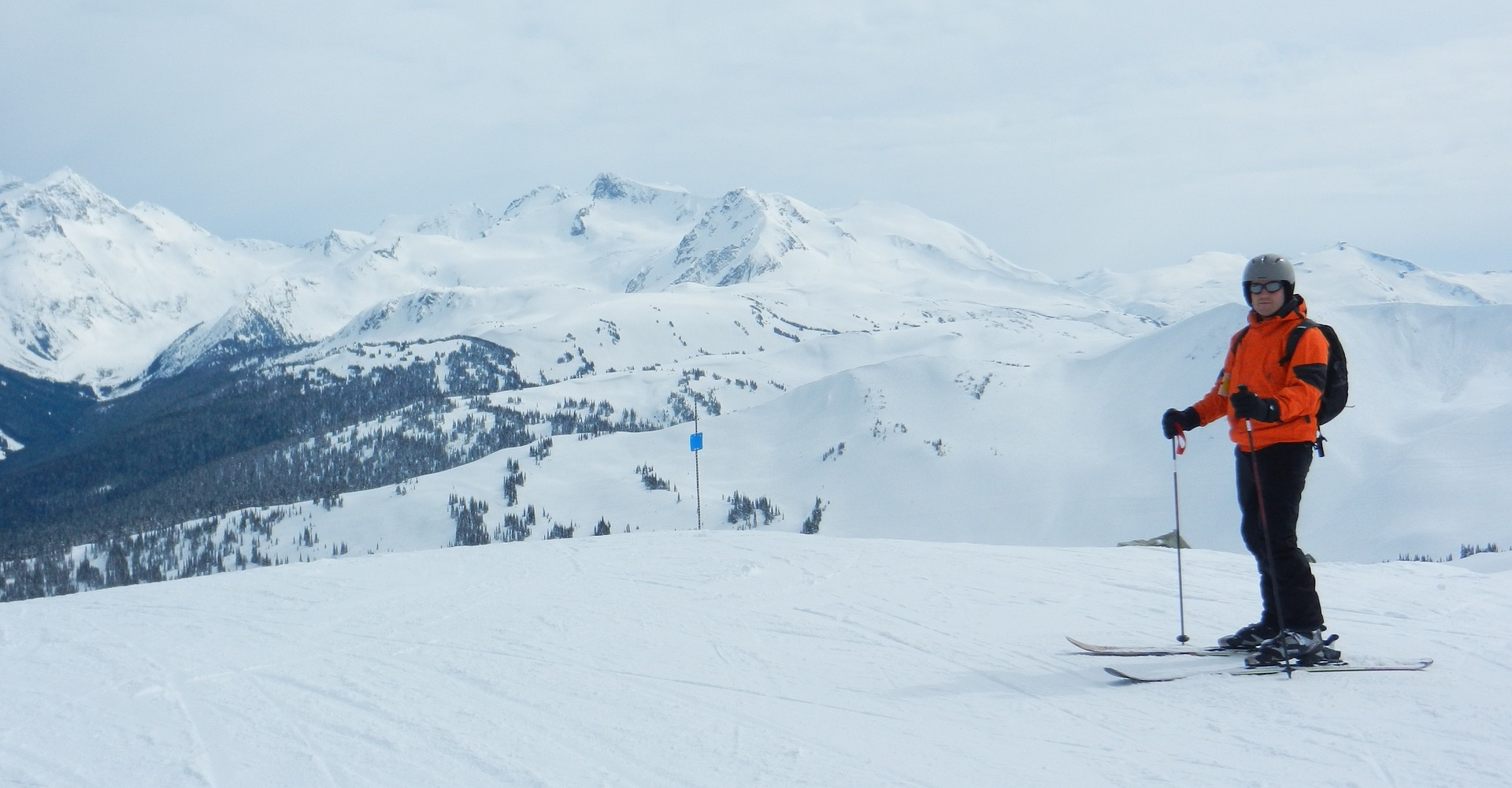 Skiing in the Pacific Northwest